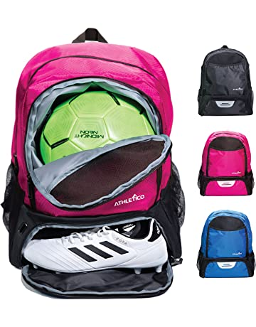 0c2d908bdd Athletico Youth Soccer Bag - Soccer Backpack   Bags for Basketball