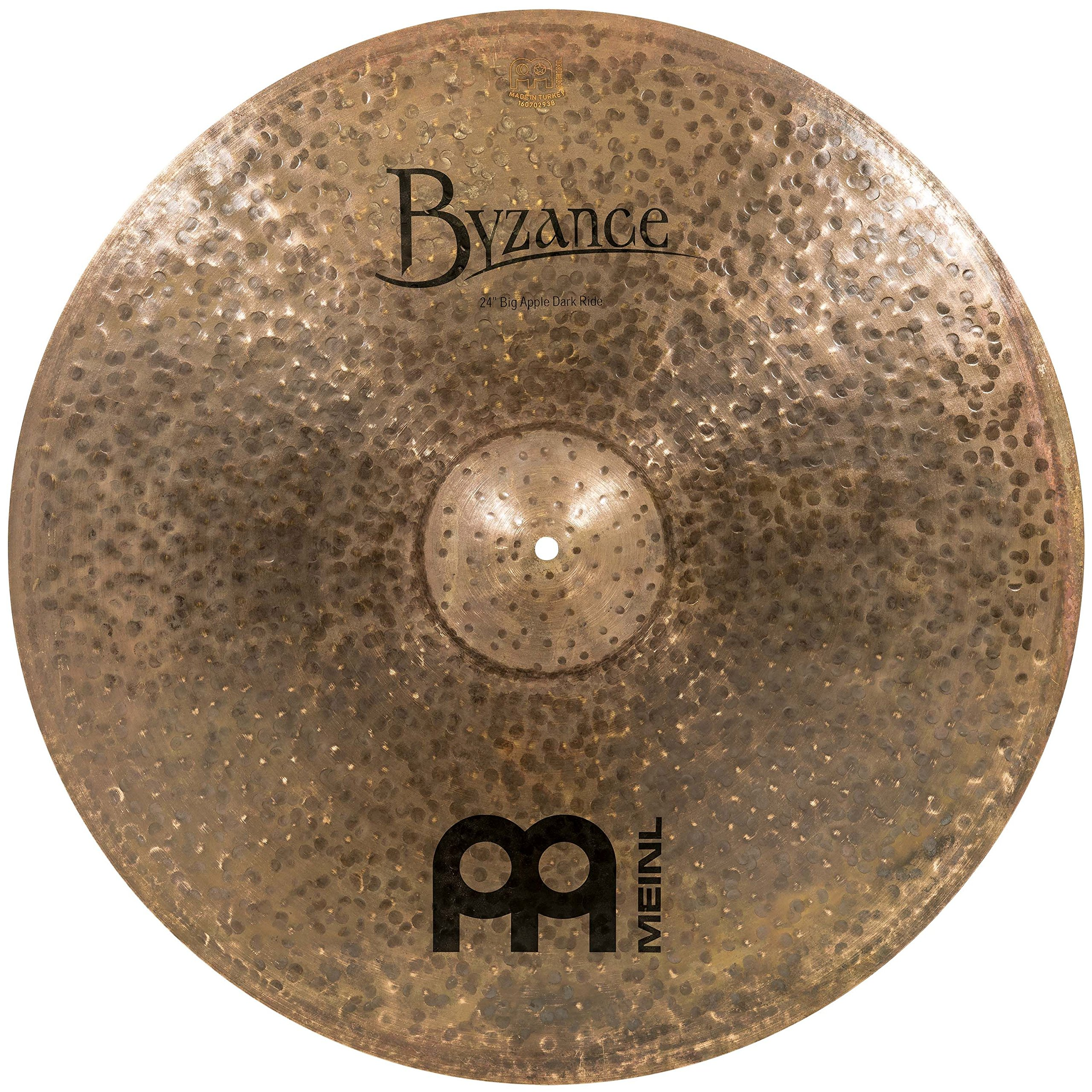 Meinl Cymbals B24BADAR Byzance Jazz 24-Inch Big Apple Dark Ride Cymbal (VIDEO)
