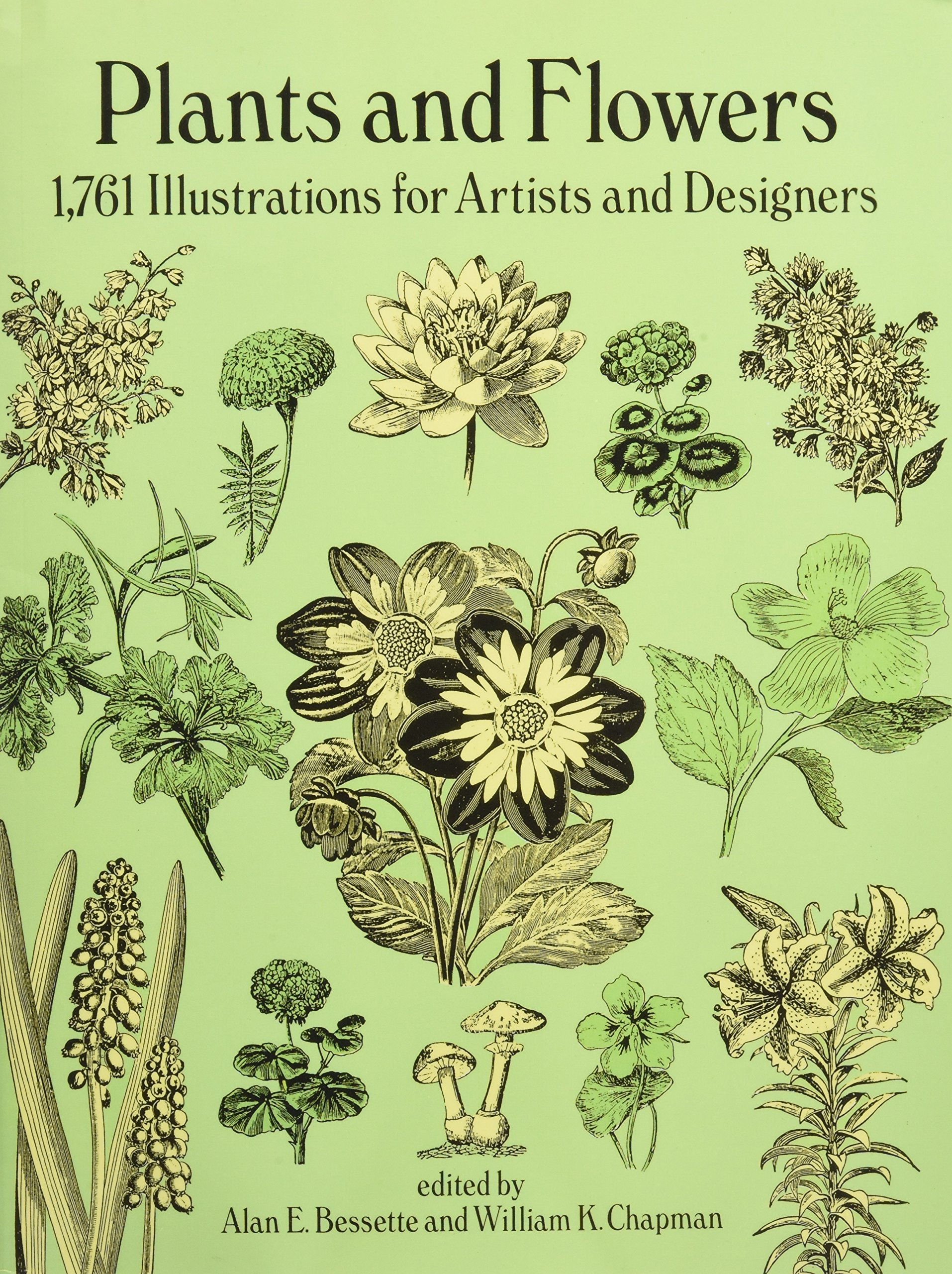 Plants and Flowers: 1761 Illustrations for Artists and Designers (Dover Pictorial Archive) by Dover Publications
