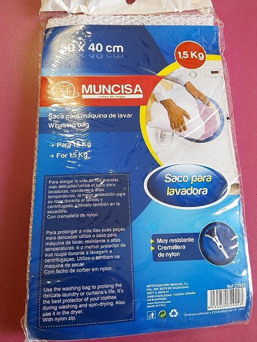 Saco para la lavadora 15kg.: Amazon.es: Hogar