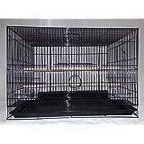 Adventure pet cage Birds Breeding Cage (Black)