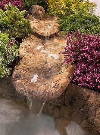 Bachlauf Wasserfall Gartenteich Bachlaufschalen Set, 135 x 50cm, Gr ...