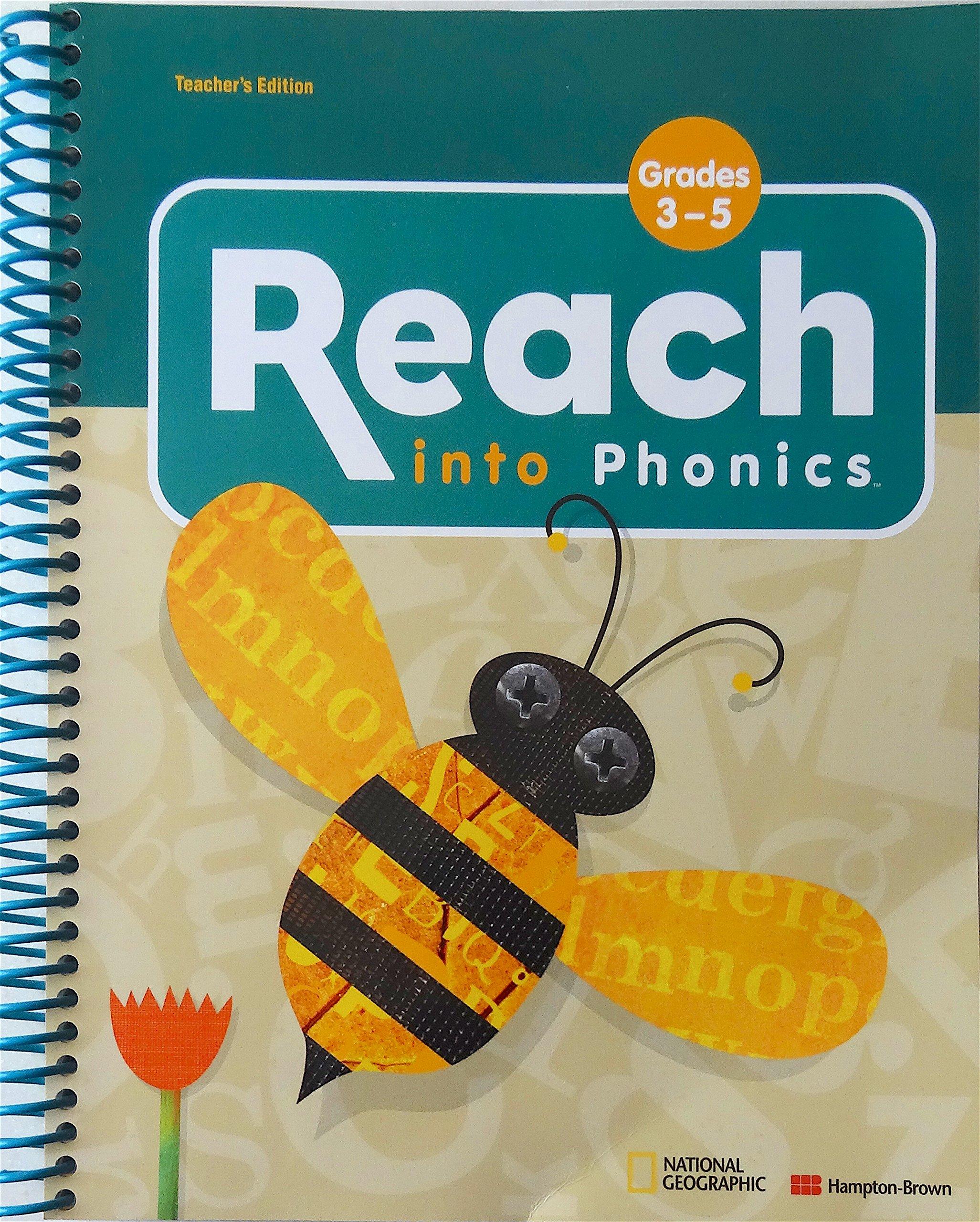 Download Reach Into Phonics w/ 2 Sounds & Songs Cds ~ Grades 3-5 (Teacher's Edition) pdf