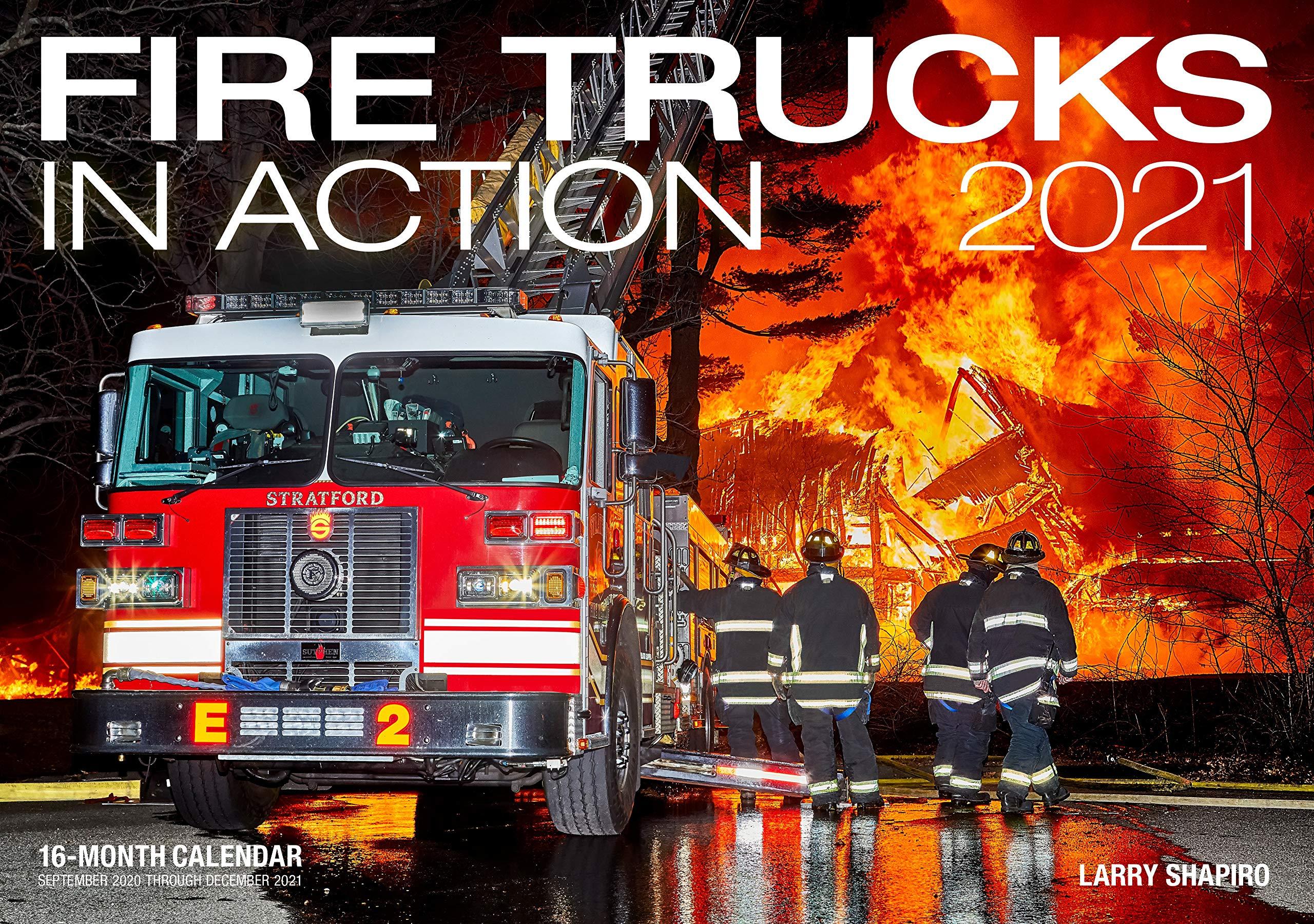 Image for Fire Trucks in Action 2021: 16-Month Calendar - September 2020 through December 2021