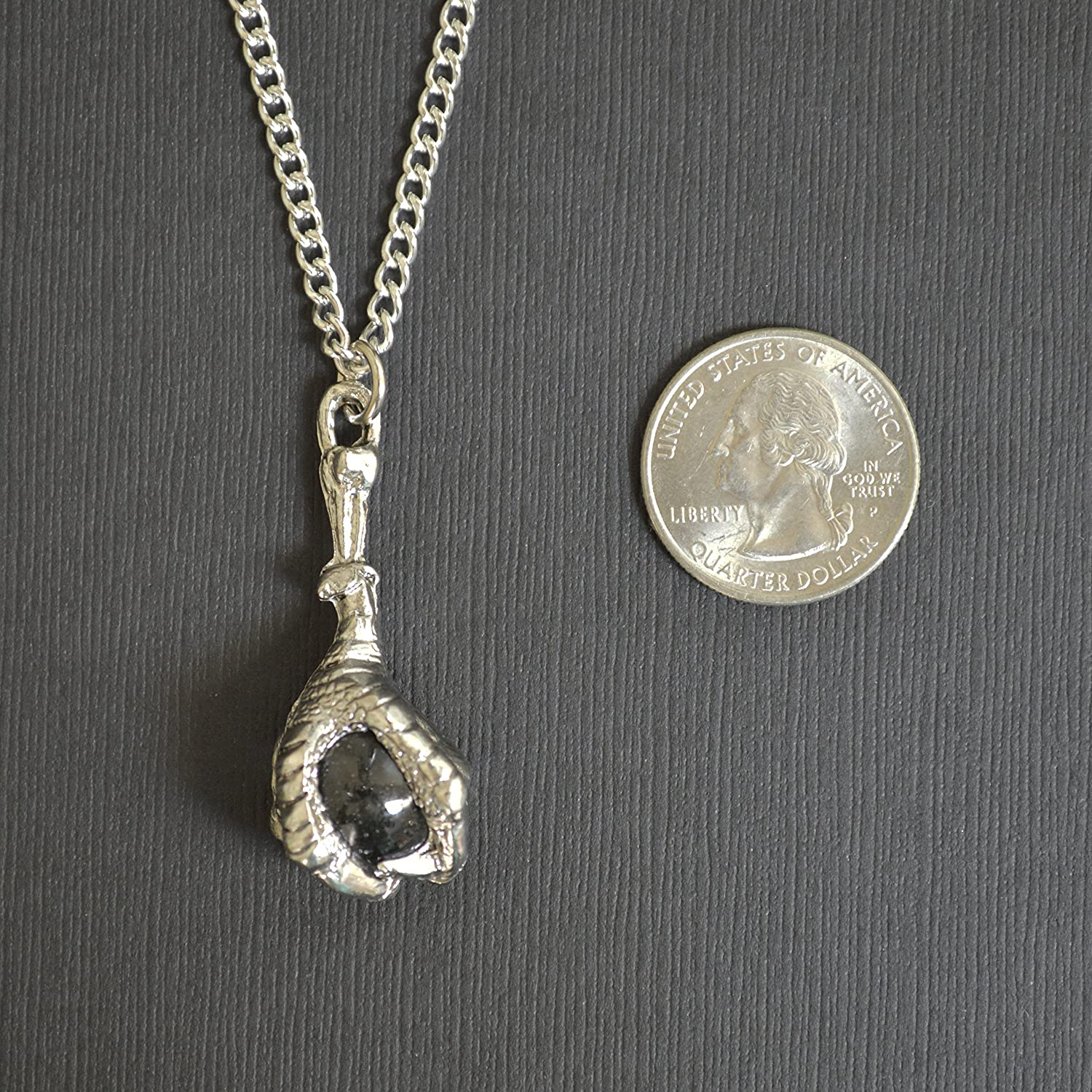 silver and image chain eternity pendant jewellery crystal ball sterling