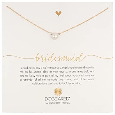 gold rose engraved plated editorial medium thank necklace lily message charmed you heart card with bridesmaid jewellery