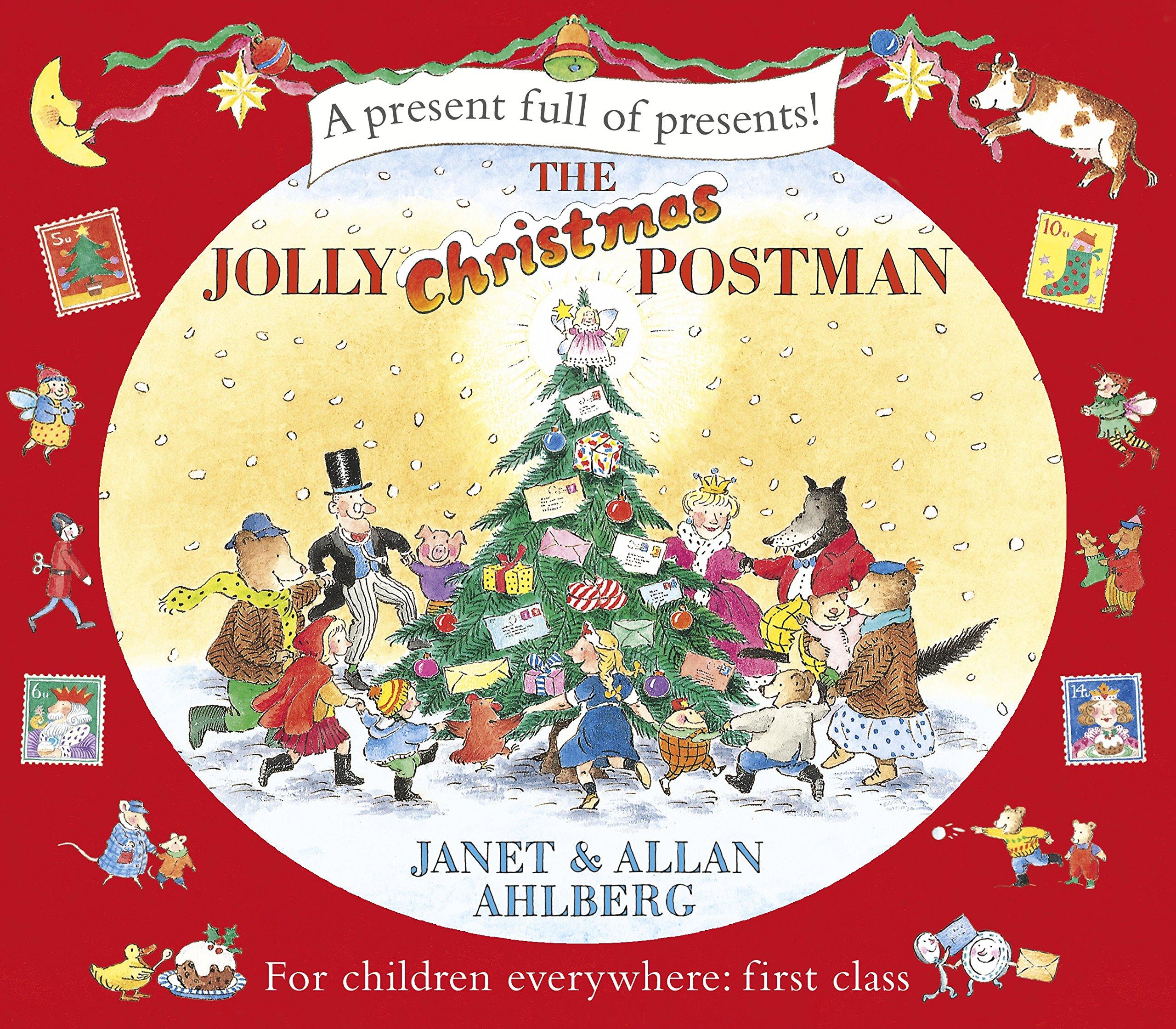The Jolly Christmas Postman (The Jolly Postman): Amazon.co.uk: Ahlberg,  Allan, Ahlberg, Janet: 9780141340111: Books