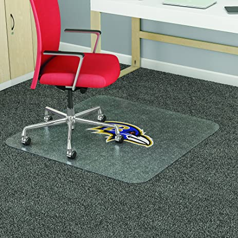 Baltimore Ravens NFL Antistatic Chair Mat (45u0026quot; ...