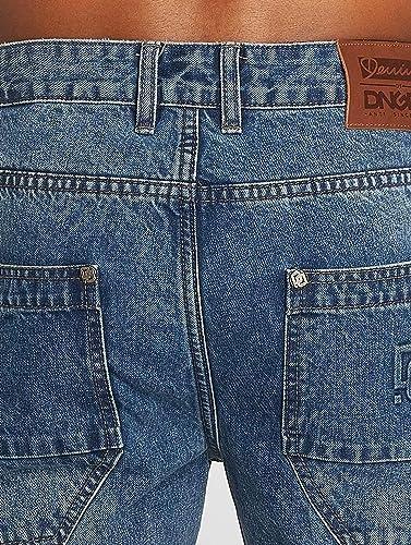 Dangerous DNGRS Uomo Jeans Straight Fit Buddy: Amazon.it