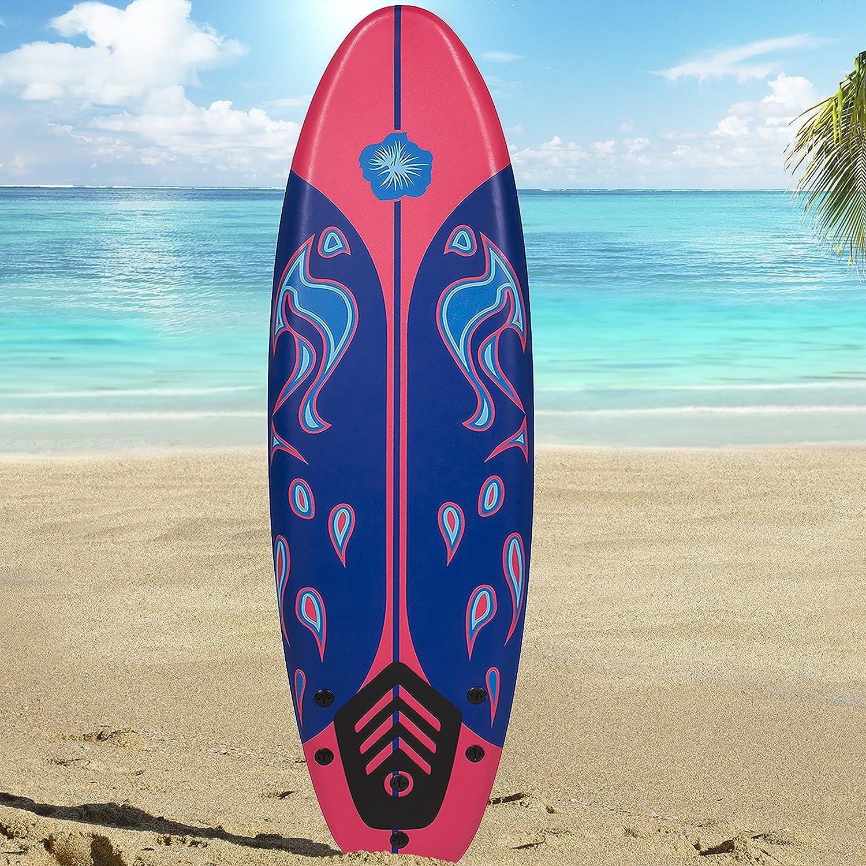 Sky Enterprise USA 6 Foamie Junta Tabla de Surf Surf Surf Junta Principiantes: Amazon.es: Deportes y aire libre
