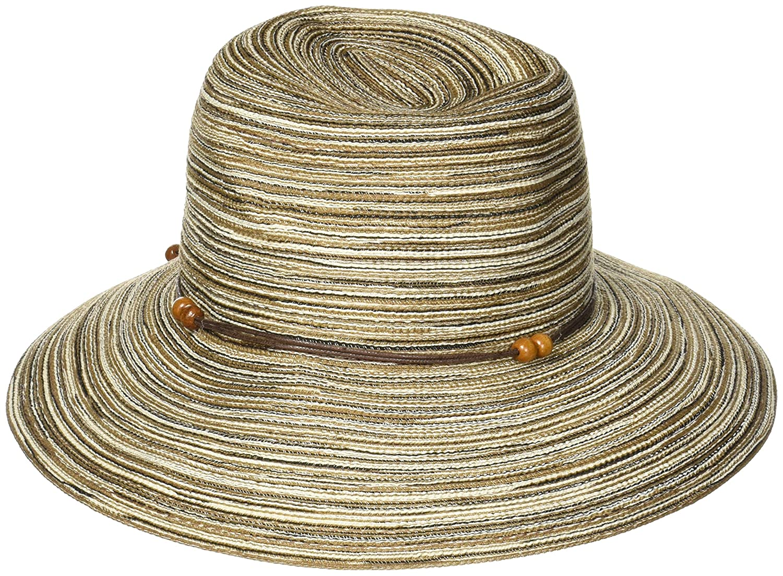 49a8fbc7b17f1 Amazon.com: Chaos -CTR Women's Summit Breeze Crushable Straw Hat, Brown  Heather, Small/Medium: CTR Chaos: Clothing