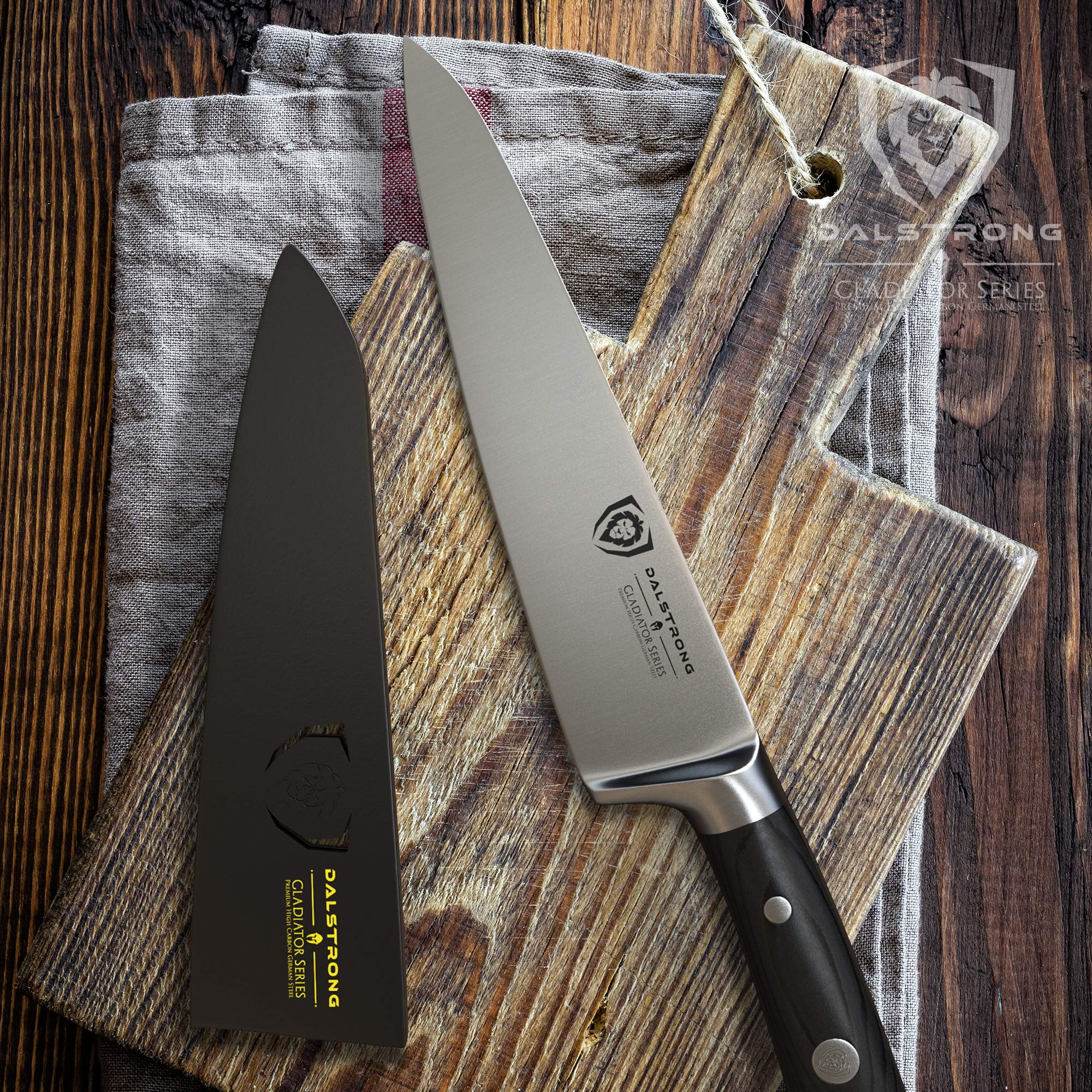 Dalstrong Chef's Knife - Gladiator Series - German HC Steel - 7'' w/Sheath by Dalstrong (Image #3)