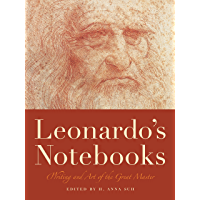 Leonardo's Notebooks: Writing and Art of the Great Master (Notebook Series) book cover