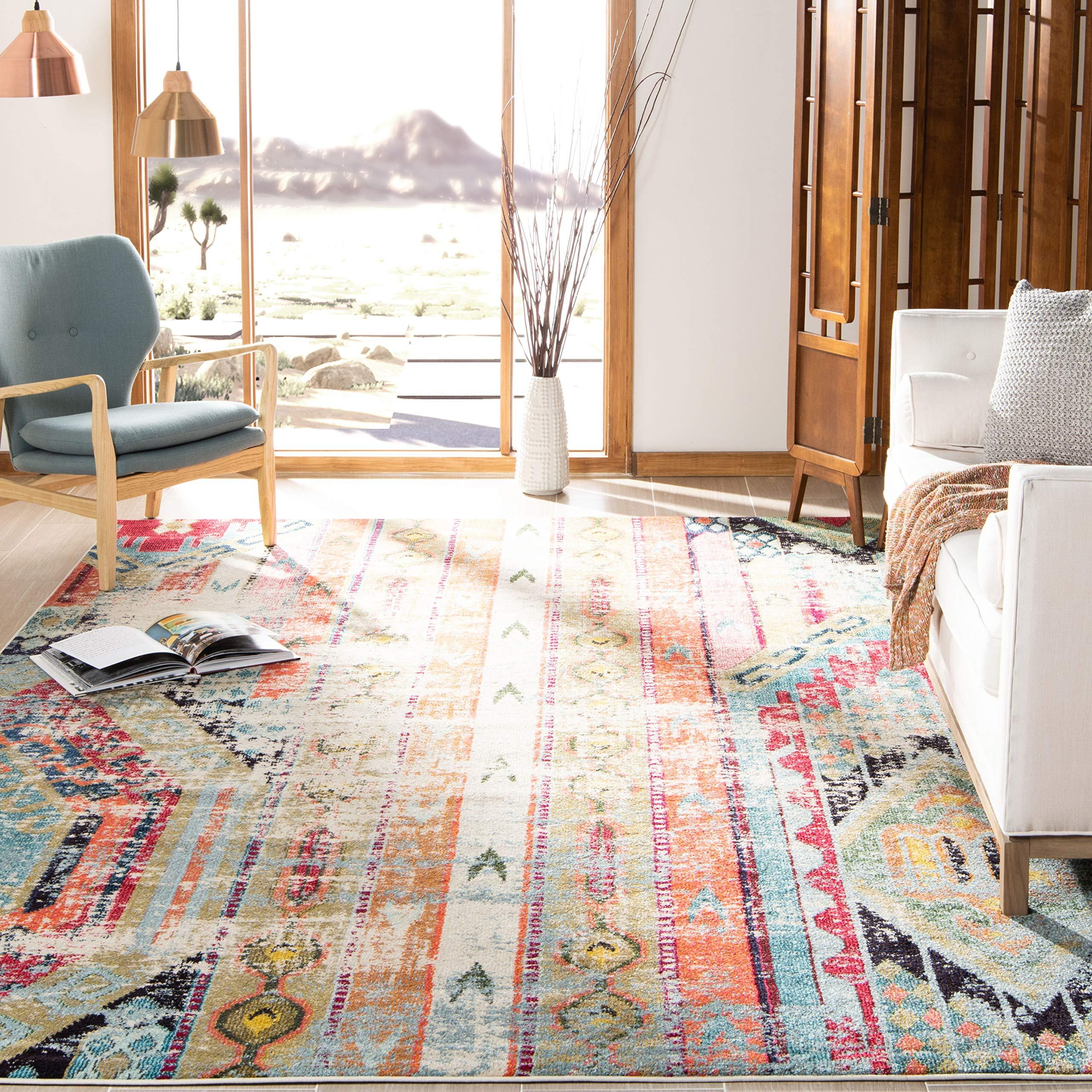 Safavieh MNC222F-4 Monaco area-rugs, 4' x 5'7'', Multi by Safavieh