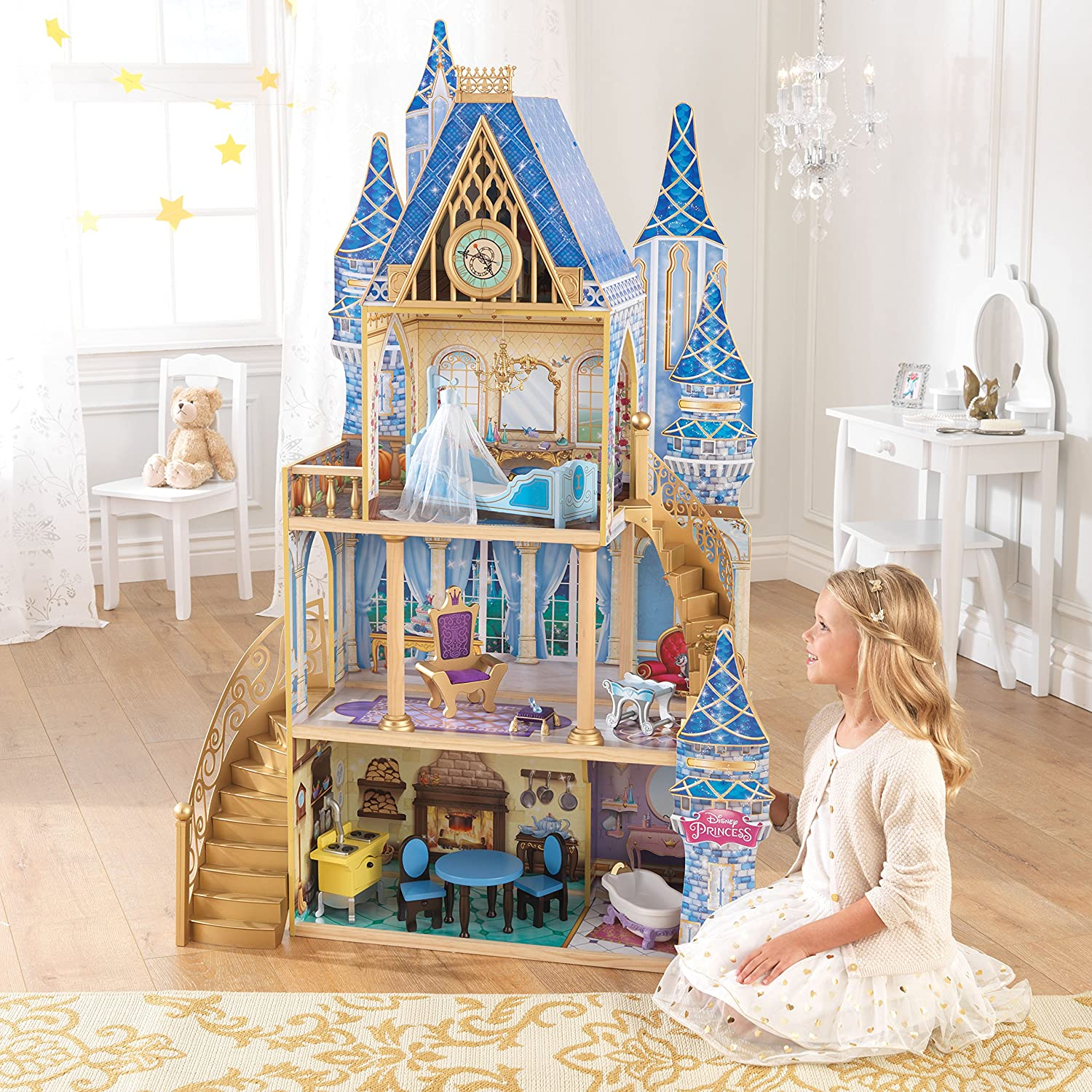 KidKraft Disney Princess Cinde...
