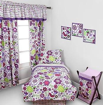 best sneakers e01e4 513fb Botanical Purple 4 pc Toddler Bedding Set