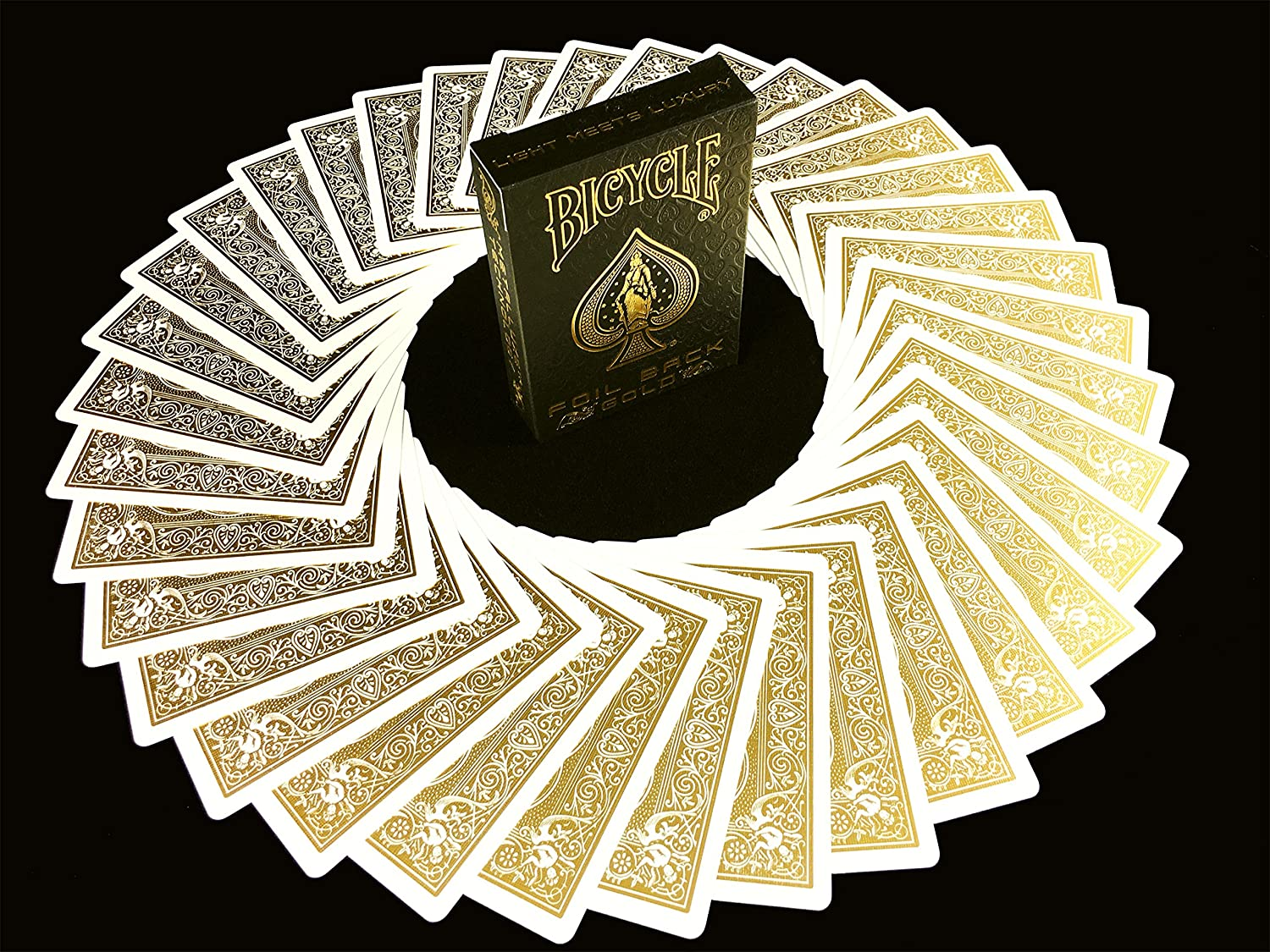 BICYCLE METALLUXE GOLD JUEGO DE CARTAS Baraja Limited Edition Cards By JOKARTE COLLECTORS Playing cards Golden Luxe