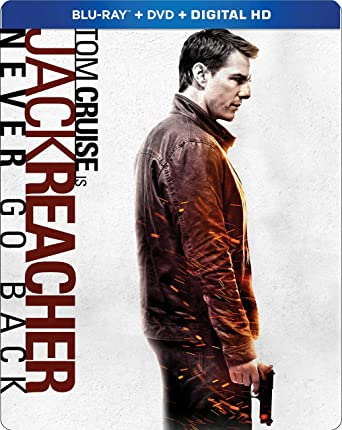 Jack Reacher: Never Go Back (Steelbook) [Blu ray]: Tom