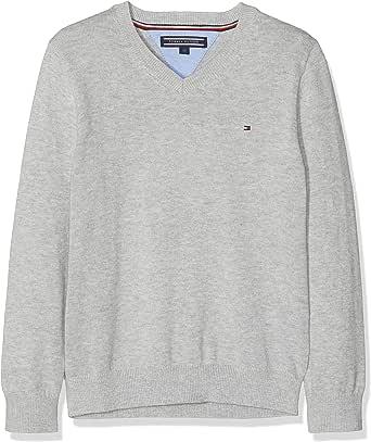 Tommy Hilfiger Boys Basic V-Neck Sweater suéter para Niños