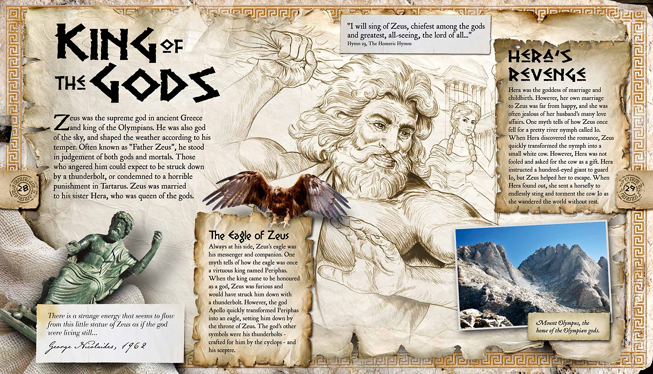 gods heroes and monsters discover the wonders of the ancient