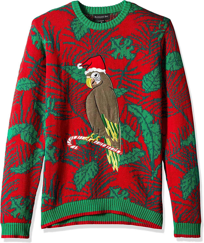 Blizzard Bay Men's Ugly Christmas Sweater Birds