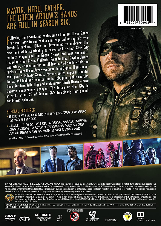 Amazon.com: Arrow: The Complete Sixth Season (DVD): James ...