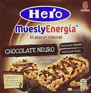 Hero - Muesly Choco.Negro Est.6 Barritas x 23 g - [pack
