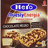 Hero - Muesly Choco.Negro Est.6 Barritas x 23 g - [pack de 5]