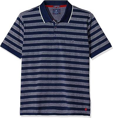 Pierre Cardin Poloshirt Premium Cotton Pique Bicolor Streifen Airtouch Polo para Hombre: Amazon.es: Ropa y accesorios