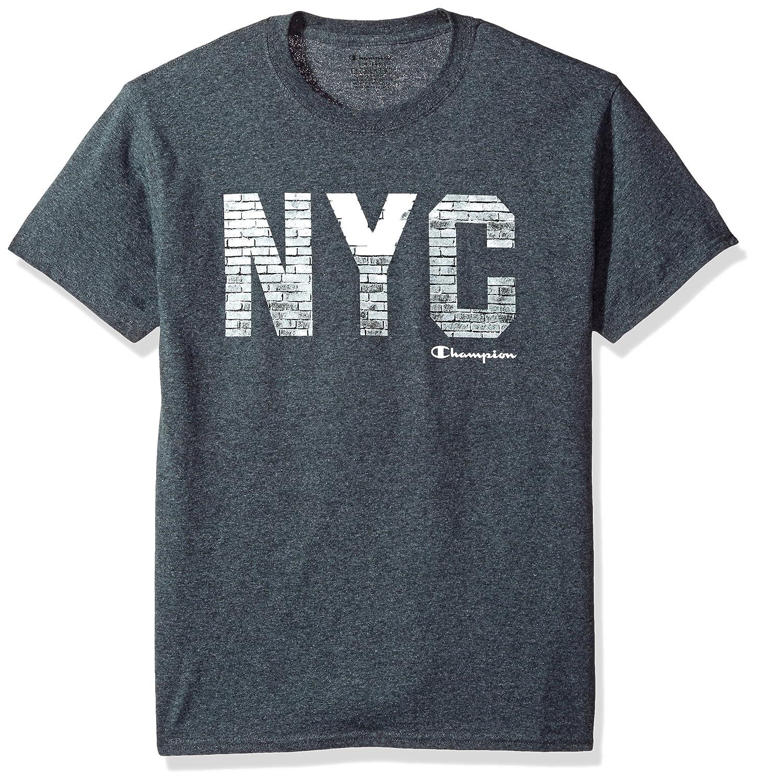 9d1ccb47 Champion Classic Jersey Graphic T-Shirt | Amazon.com