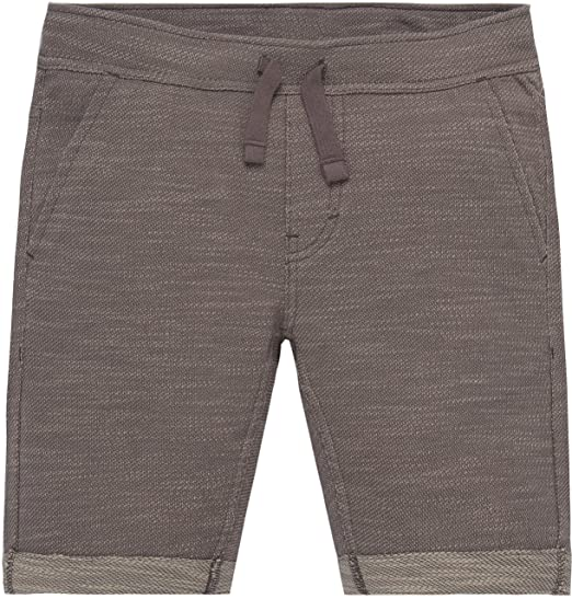 9be4fd1988f4d Levi's Big Boys' Knit Drawstring Shorts, Steel Grey: Amazon.co.uk ...