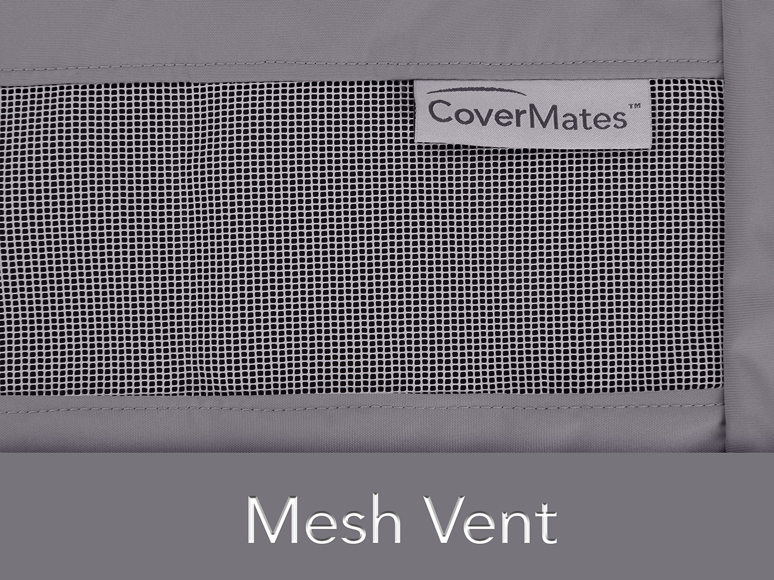 CoverMates – Cushion Storage Bag – 75W x 18D x 26H – Elite Collection – 3 YR Warranty – Year Around Protection - Charcoal by CoverMates (Image #3)
