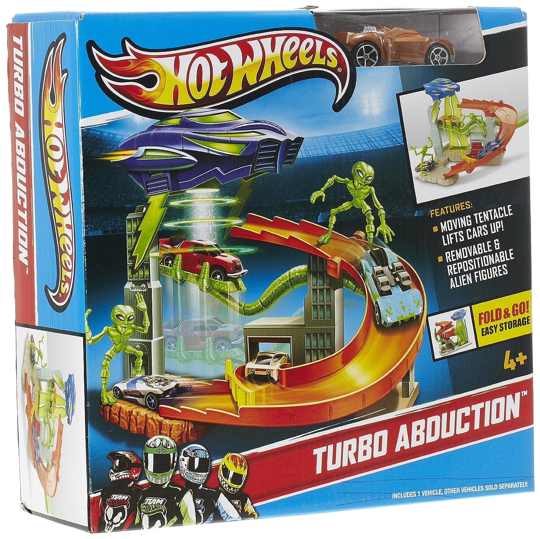 Hot Wheels Team Turbo Turbo Turbo Entführung Spielset 5cd3a1