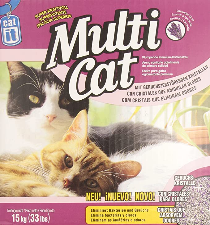 Amazon.com : Catit Multi-Cat Litter, 33-Pound : Pet Litter : Pet Supplies