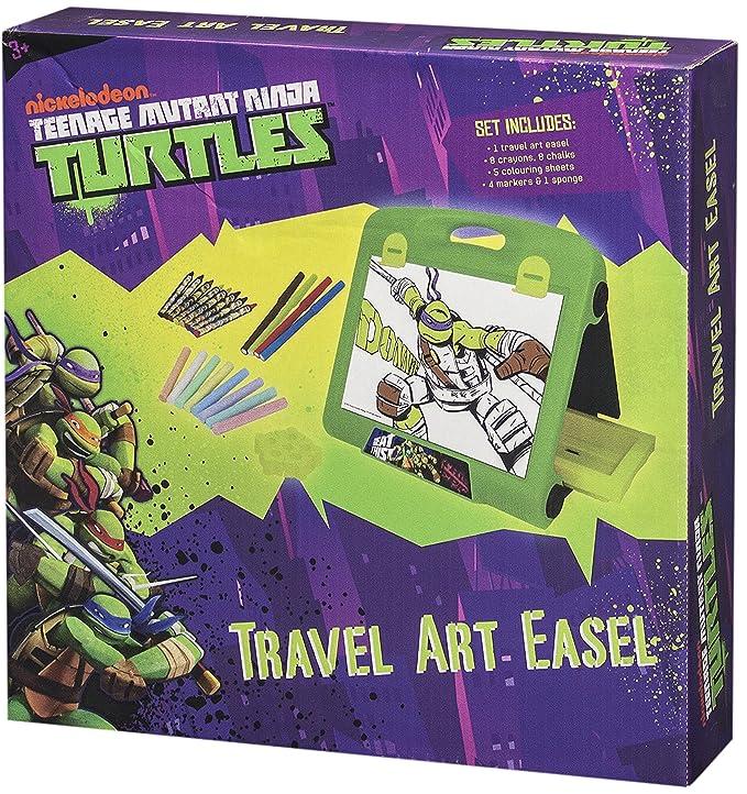 Sambro Tortugas Ninja Viaje Caballete De Arte: Amazon.es ...