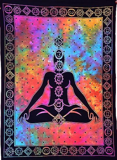 Amazon.com: ANJANIYA Seven Chakra Yoga Meditación Studio ...