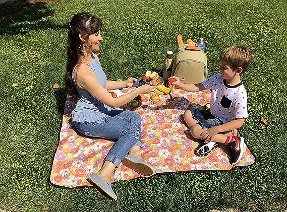 Cesta de Picnic para 2-4 Personas Nevera Portátil Camping Set Cesta Casa.pro