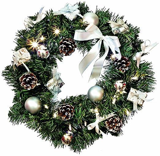 Ghirlande natalizie argento