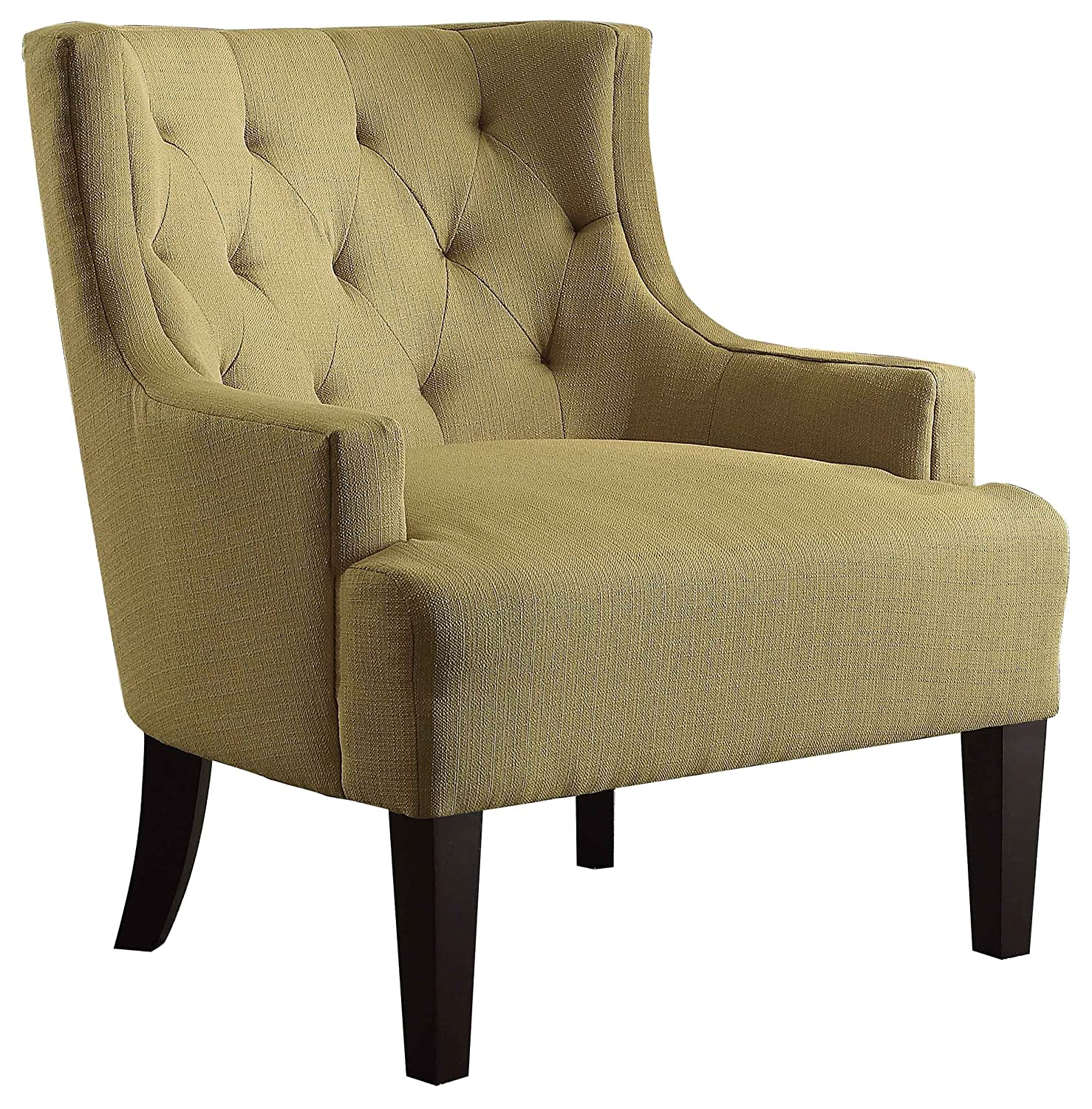 Amazon Homelegance 1233MD Tufted Fabric Accent Chair with