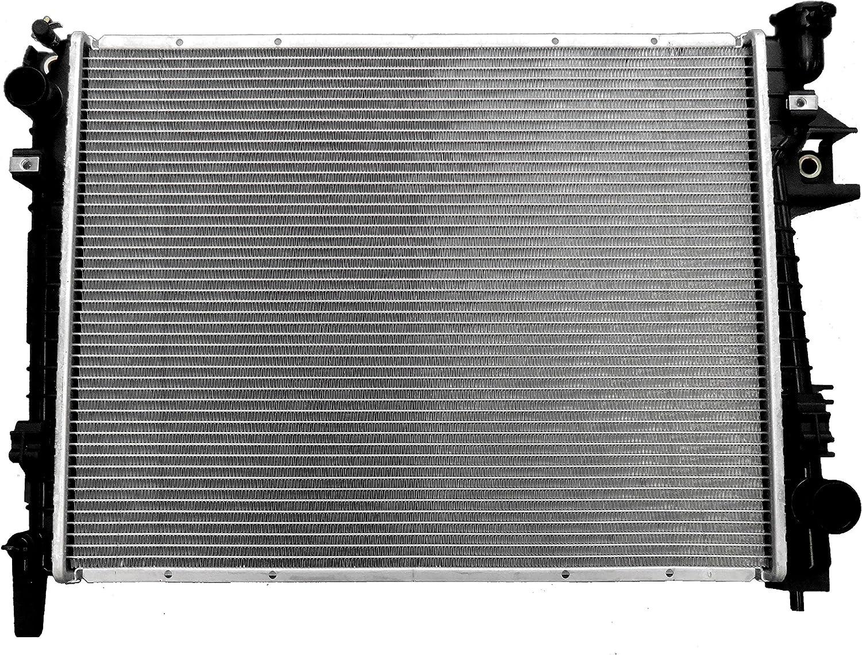 New Radiator 2480 fits Dodge Ram 1500 2500 3500 2002-2008 3.7 V6 4.7 5.7 5.9 V8