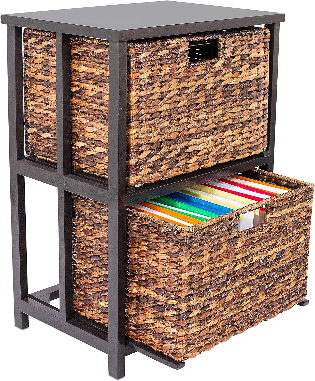 Abaca 2 Drawer File Cabinet