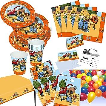 Riethmüller - Cubertería para fiestas (FF-2-Set-91): Amazon.es: Juguetes y juegos