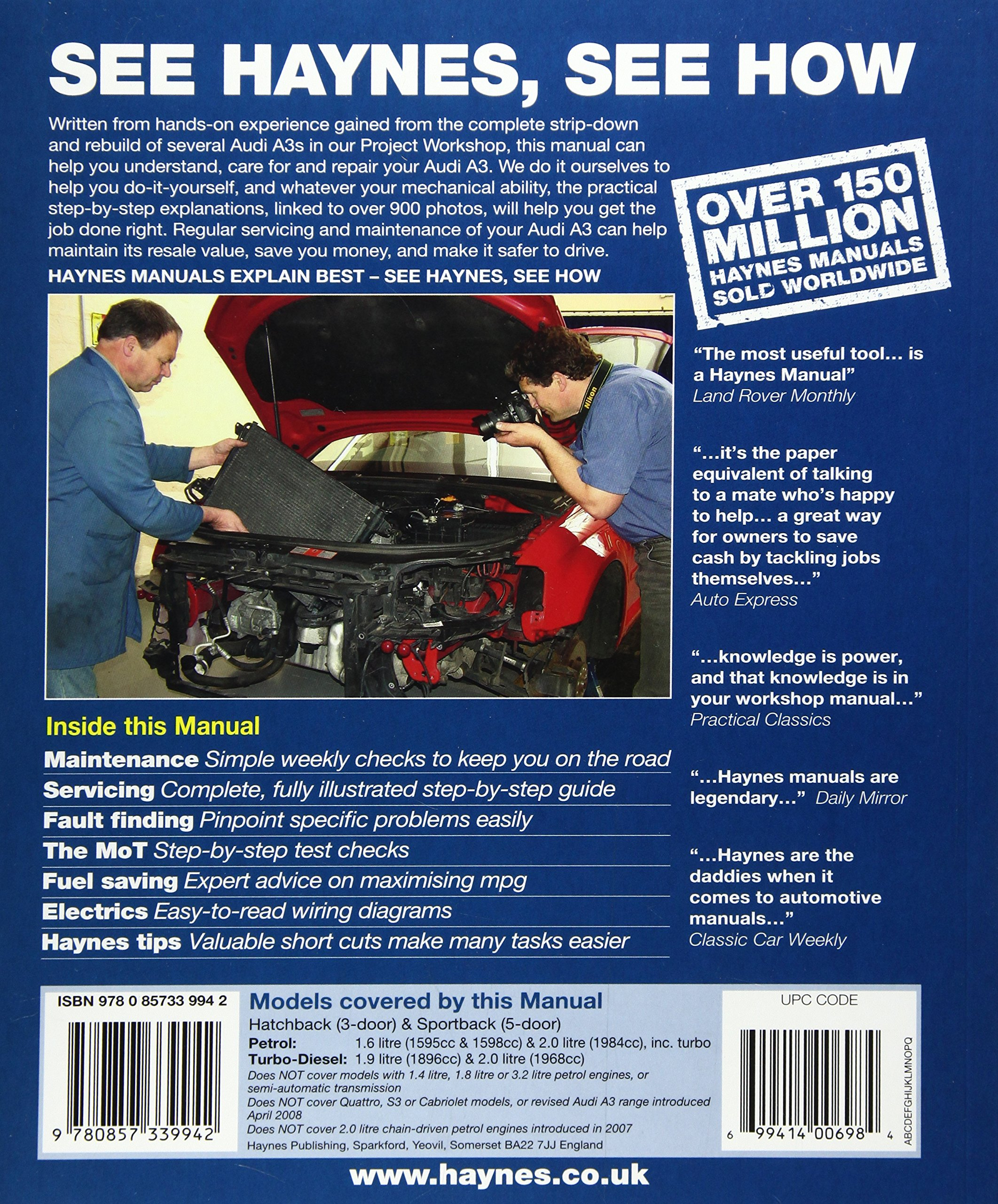 A18Xeka7WTL audi a3 service and repair manual 03 08 (haynes service and how to read haynes wiring diagram at mifinder.co