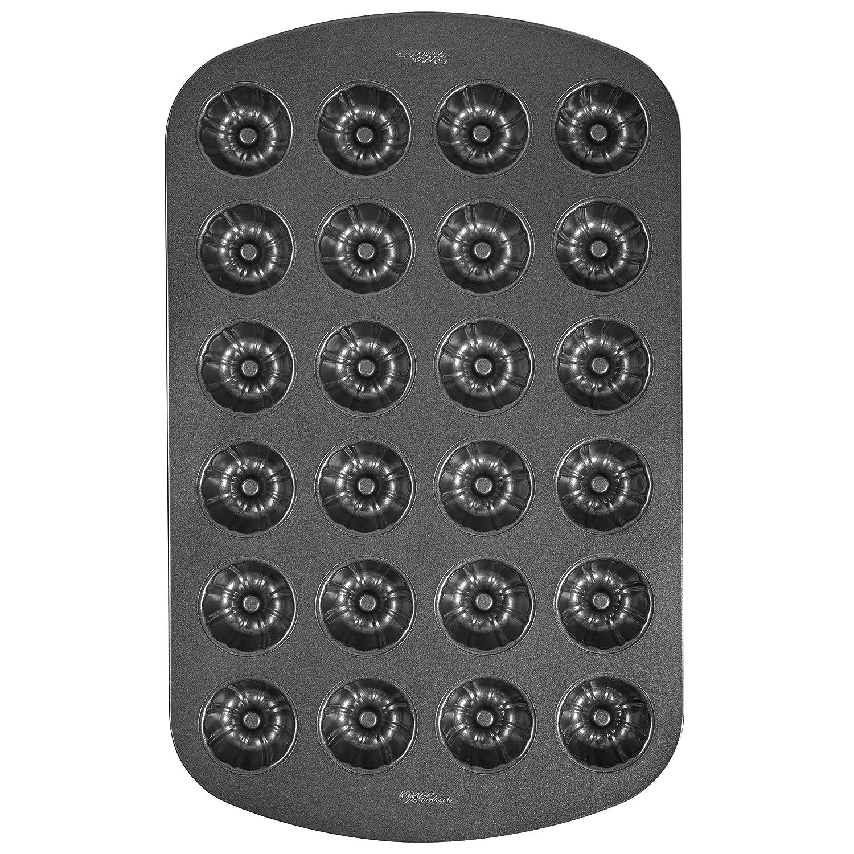 Wilton 2105-7790 Fluted 24-Cavity Muffin Pan, Mini