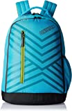 American Tourister 21 Ltrs Turquoise Casual Backpack (Ebony Backpack 05)