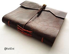 Kati Deni Cuaderno viaje pielcon costura francesa