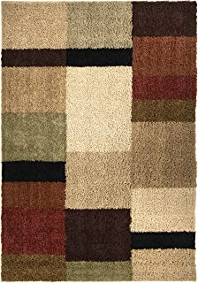 "product image for Orian Rugs Impressions Shag Brigim Area Rug, 5'3"" x 7'6"", Copper"