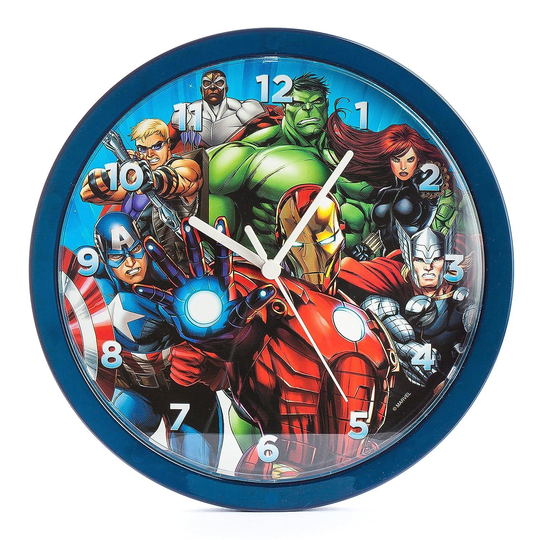 Amazon marvel avengers 10 inch analogue wall clock mar18 amazon marvel avengers 10 inch analogue wall clock mar18 kitchen dining amipublicfo Images