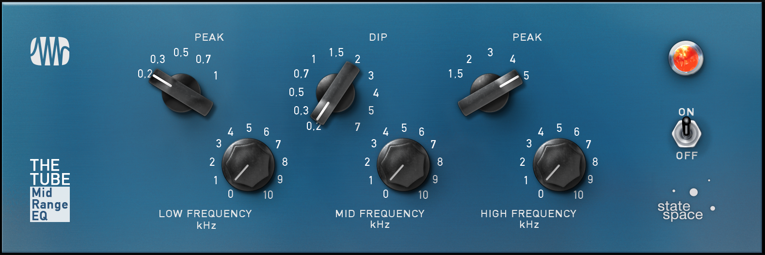 PreSonus The Tube Midrange EQ Fat Channel Plugin [Online Code] - Plug Eq Vst In