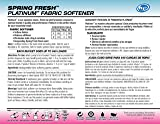 Ultra Fresh UFSF640 Platinum Spring Fresh Fabric